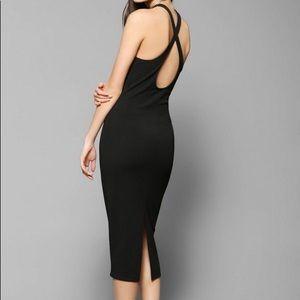 UO High Neck Midi Dress